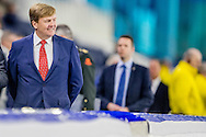 27-1-2017 HEERENVEEN - sven Kramer Koning Willem Alexander opent op vrijdag 27 januari in Heerenveen het vernieuwde Thialf. De Koning zal de opening verrichten door het geven van een startschot voor een shorttrackrace en een langebaanwedstrijd. copyright ROBIN UTRECHT<br /> 27-1-2017 HEERENVEEN - King Willem Alexander opens on Friday, January 27th in Heerenveen the renewed Thialf. The King will perform the opening by giving a start of a short-track race and a long track race. Copyright ROBIN UTRECHT