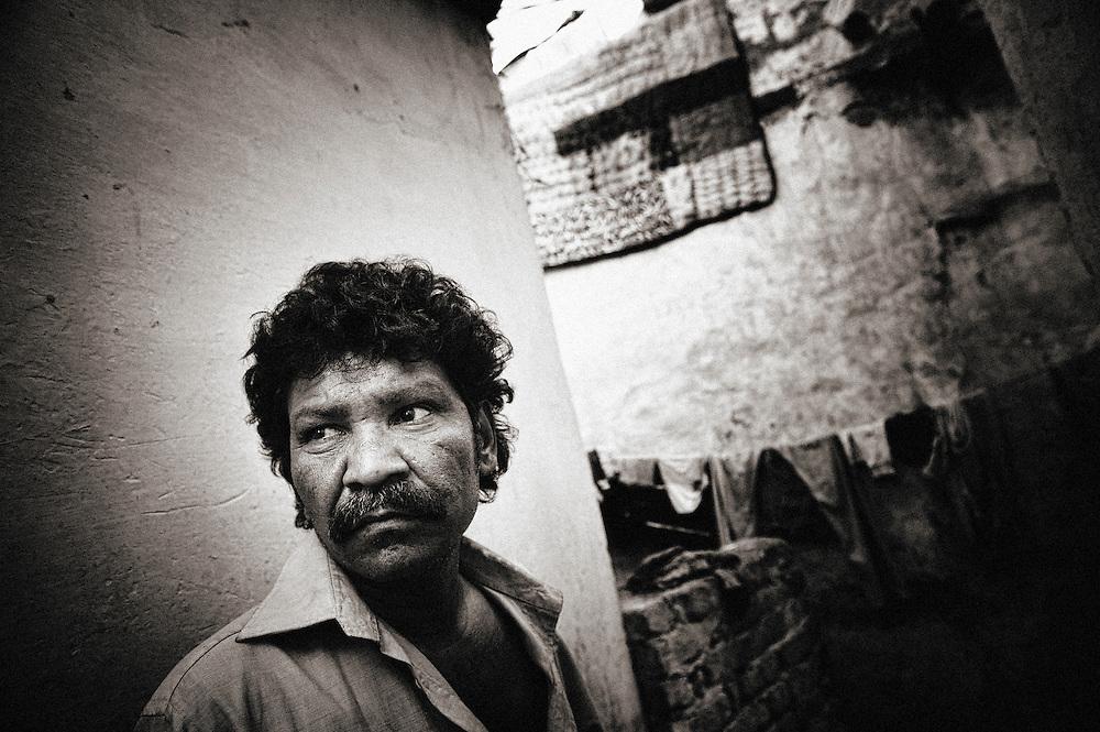 Asia, India, New Delhi, capital, city, Mega City, Delhi Union Territory, slum, Kathputly colony, Kathputli Colony
