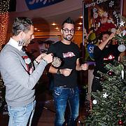NLD/Hilversum/20121207 - Skyradio Christmas Tree, Fred van Leer en Jan Kooijman
