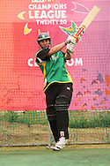 Matthew Sinclair of the Central Stags during the Central Stags training session held at St Georges Park in Port Elizabeth on the 17 September 2010..Photo by: Shaun Roy/SPORTZPICS/CLT20
