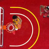 USC Men's Basketball | 2017 | WSU | Elijah Stewart overhead sequence