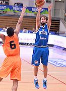 DESCRIZIONE : Trento Nazionale Italia Uomini Trentino Basket Cup Italia Olanda Italy Holland<br /> GIOCATORE : Giuseppe Poeta<br /> CATEGORIA : Italia Nazionale Uomini Italy <br /> GARA : Trento Nazionale Italia Uomini Trentino Basket Cup Italia Olanda Italy Holland <br /> DATA : 11/07/2014 <br /> AUTORE : Agenzia Ciamillo-Castoria/