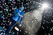 UAE, Abu Dhabi, Destination Village. 31st December 2011. Coldplay.