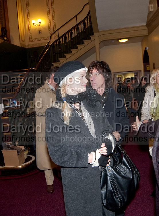SANDRA BECK; JEFF BECK, CIRQUE DU SOLEIL LONDON PREMIERE OF VAREKAI. Royal albert Hall. 5 January 2009