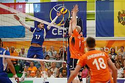 20170525 NED: 2018 FIVB Volleyball World Championship qualification, Koog aan de Zaan<br />Athanasios Protopsaltis (17) of Greece <br />©2017-FotoHoogendoorn.nl / Pim Waslander