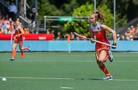 AMSTELVEEN - Xan de Waard (Ned)    tijdens    de Pro League hockeywedstrijd dames, Nederland-Australie (3-1) COPYRIGHT  KOEN SUYK