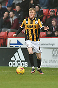 Sam Kelly of Port Vale makes his way up the field during the Sky Bet League 1 match between Sheffield Utd and Port Vale at Bramall Lane, Sheffield, England on 20 February 2016. Photo by Ian Lyall.