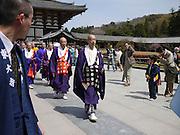Japan, Honshu, Nara, Todai-Ji Temple