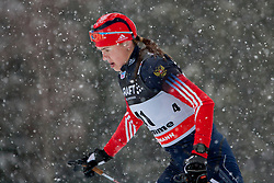 Alevtina Tanygina of Russia during women 9 km pursue race at the cross country Tour de Ski 2014 of the FIS cross country World cup competition on January 5th, 2014 in Alpe Cermis, Val di Fiemme, Italy. (Photo by Urban Urbanc / Sportida)