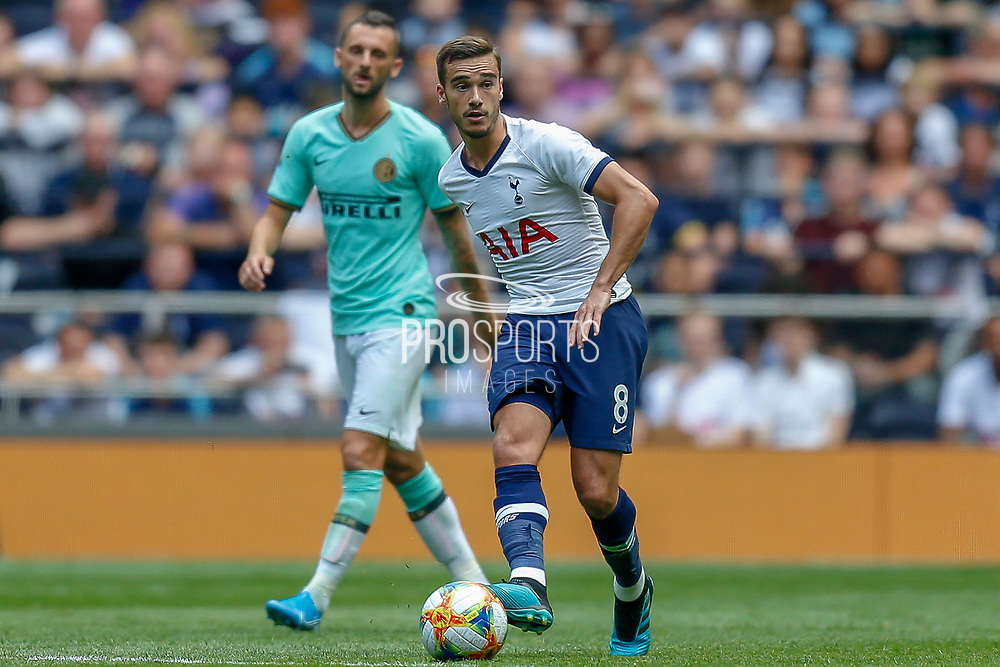 Tottenham Hotspur midfielder Harry Winks (8) during the Pre-Season Friendly match between Tottenham Hotspur and Inter Milan at Tottenham Hotspur Stadium, London, United Kingdom on 4 August 2019.