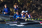 Crews compete in flight #2 at the Head of the Gorge Rowing Regatta along the Gorge Waterway in Victoria B.C. Oct 26, 2013