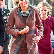 NLD/Amsterdam/20181102 - Koningin Máxima bezoekt Stichting 113 Zelfmoordpreventie, Koningin Maxima