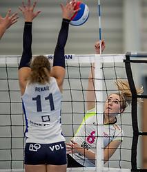 25-10-2017 NED: Sliedrecht Sport - Eurosped TVT, Sliedrecht<br /> Sliedrecht Sport wint met 3-1 van Eurosped / Bo Duteweert #8 of Eurosped