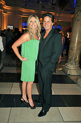TINA HOBLEY and OLIVER WHEELER at the F1 Party in aid of the Great Ormond Street Hospital Children's Charity held at the V&A, Londonon 17th June 2009.