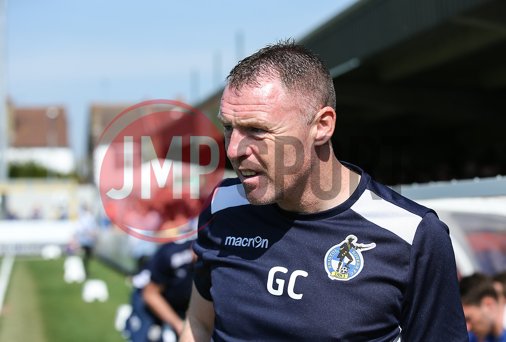 Bristol Rovers manager Graham Coughlan - Mandatory by-line: Arron Gent/JMP - 19/04/2019 - FOOTBALL - Cherry Red Records Stadium - Kingston upon Thames, England - AFC Wimbledon v Bristol Rovers - Sky Bet League One