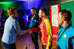 Romana Drevensek and Tina Cipot during Closing ceremony at Day 4 of 16th Slovenia Open - Thermana Lasko 2019 Table Tennis for the Disabled, on May 11, 2019, in Thermana Lasko, Lasko, Slovenia. Photo by Vid Ponikvar / Sportida