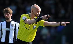 Match Referee Darren Drysdale- Photo mandatory by-line: Harry Trump/JMP - Mobile: 07966 386802 - 11/04/15 - SPORT - FOOTBALL - Sky Bet League One - Yeovil Town v Notts County - Huish Park, Yeovil, England.