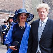 NLD/Den Haag/20130917 -  Prinsjesdag 2013,<br /> Staatssecretaris van Volksgezondheid, Welzijn en Sport<br />  Martin van Rijn en partner …..