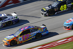 October 14, 2018 - Talladega, Alabama, United States of America - Ricky Stenhouse, Jr (17) battles for position during the 1000Bulbs.com 500 at Talladega Superspeedway in Talladega, Alabama. (Credit Image: © Justin R. Noe Asp Inc/ASP via ZUMA Wire)