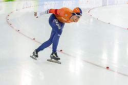 11-12-2016 NED: ISU World Cup Speed Skating, Heerenveen<br /> Douwe de Vries op de 10000 m