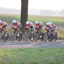 31-08-2016: Wielrennen: Ladies Tour: Gennep <br /> <br /> GENNEP (NED) wielrennenIn Gennep werd een ploegtijdrit verreden, Boels-Dolmans  reed met ene gemiddelde van ruim 52 km/h naar de winst
