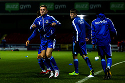 Kieran Phillips of Bristol Rovers - Mandatory by-line: Robbie Stephenson/JMP - 29/10/2019 - FOOTBALL - County Ground - Swindon, England - Swindon Town v Bristol Rovers - FA Youth Cup Round One