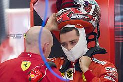 August 31, 2019, Spa, Belgium: Ferrari's Monegasque driver Charles Leclerc pictured during the free trial sessions ahead of the Spa-Francorchamps Formula One Grand Prix of Belgium race, in Spa-Francorchamps, Saturday 31 August 2019. (Credit Image: © Nicolas Lambert/Belga via ZUMA Press)