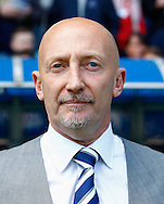 Ian Holloway , Manager of Millwall looks on before the Sky Bet Championship match at The Den, London<br /> Picture by David Horn/Focus Images Ltd +44 7545 970036<br /> 03/05/2014