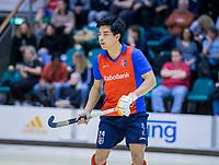 ROTTERDAM  - NK Zaalhockey . finale heren: SCHC-Amsterdam (2-2, SCHC wint shoot-outs) . Roderick Tam (SCHC).  COPYRIGHT KOEN SUYK