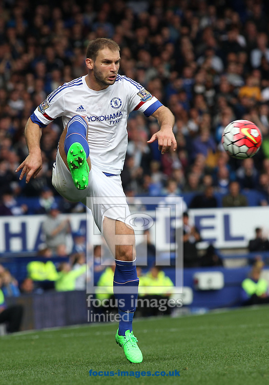 Branislav Ivanovic of Chelsea in action against Everton during the Barclays Premier League match at Goodison Park, Liverpool.<br /> Picture by Michael Sedgwick/Focus Images Ltd +44 7900 363072<br /> 12/09/2015
