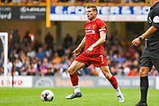 James Milner of Liverpool (7) in action during the Pre-Season Friendly match between Bradford City and Liverpool at the Northern Commercials Stadium, Bradford, England on 14 July 2019.