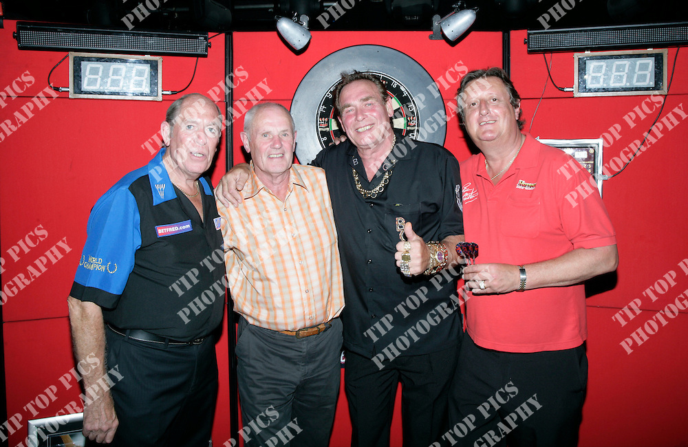 ERIC BRISTOW,BOBBY GEORGE,JOHN LOWE,LEGENDS TOUR OF BUTLINS LEGENDS,DARTS,BDO,PDC,LEGENDS OF DARTS