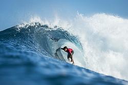 December 18, 2017 - Oahu, Hawaii, U.S. - Jeremy Flores (FRA) placed 1st in Heat 3 of Round Four at Billabong Pipe Masters 2017 in Pipe  Oahu, Hawaii , USA..Billabong Pipe Masters 2017, Hawaii, USA - 18 Dec 2017 (Credit Image: © WSL via ZUMA Wire/ZUMAPRESS.com)