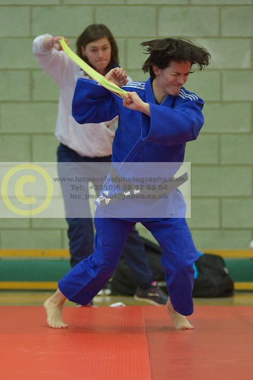 Behind The Scenes, Sandrine Aurieres-Martinet, -52kg, FRA, 2016 Visually Impaired Judo Grandprix, British Judo, Birmingham, England