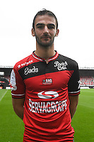 Christophe Kerbrat of Guingamp during the Photo shooting of En Avant Guingamp on september 27th 2016<br /> Photo : Philippe Le Brech / Icon Sport