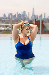 Hunter McGrady will have a starring role in the new Sports Illustrated Swimsuit Issue, out Wednesday, for the third year in a row. **NO NEW YORK DAILY NEWS, NO NEW YORK TIMES, NO NEWSDAY**. 25 Apr 2019 Pictured: Hunter McGrady. Photo credit: Annie Wermiel / NY Post / MEGA TheMegaAgency.com +1 888 505 6342