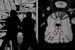 © Licensed to London News Pictures. 05/09/2011. London, UK. Visionary Japanese manga artist and animator Osamu Tezuka provides the inspiration for internationally renowned choreographer and Sadler's Wells Associate Artist Sidi Larbi Cherkaoui's brand new work - TeZukA. Photo credit: Bettina Strenske/LNP