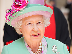 JUN 12 2014 The Queen opens the new Westminster Schools sports centre