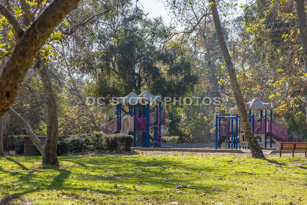 Children's Outdoor Playground Equipment at Huntington Central Park