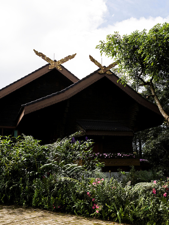 Views from Doi Tung Villa, the home of the Queen Mother, Mae Fah Luang.