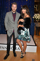 RICK EDWARDS and JAMEELA JAMIL at the #PandoraWishes Campaign Launch Event, Pandora Marble Arch flagship store, London on 12th November 2014.