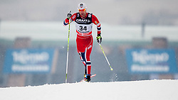 Tord Asle Gjerdalen of Norway during mens 10km Classic individual start of the Tour de Ski 2014 of the FIS cross country World cup on January 4th, 2014 in Cross Country Centre Lago di Tesero, Val di Fiemme, Italy. (Photo by Urban Urbanc / Sportida)