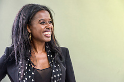 Pictured: June Sarpong<br /> <br /> June Konadu Sarpong MBE is a British television broadcaster and former panellist on ITV's Loose Women. She is currently a panellist on the Sky News programme The Pledge