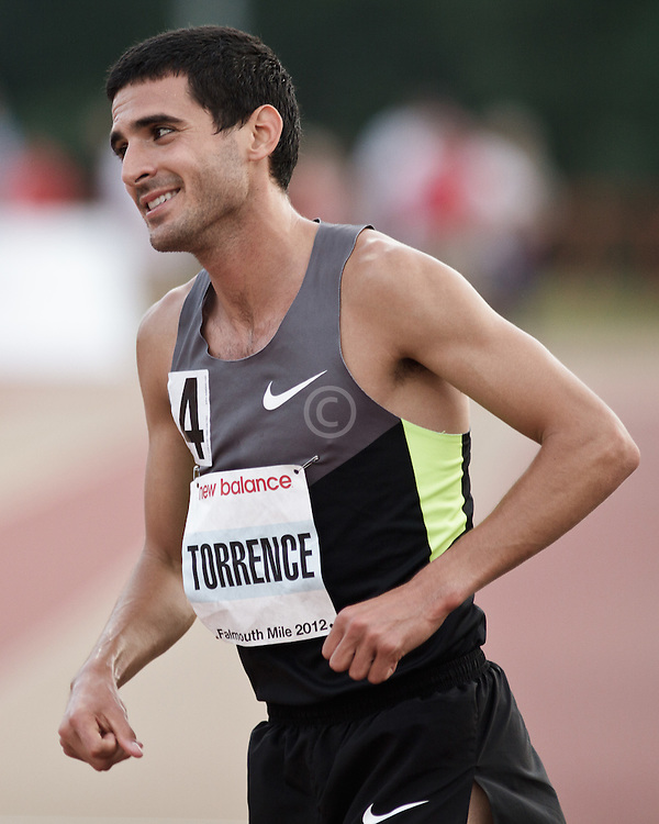 Falmouth Road Race: Falmouth Elite Mile race, David Torrence wins, post-race