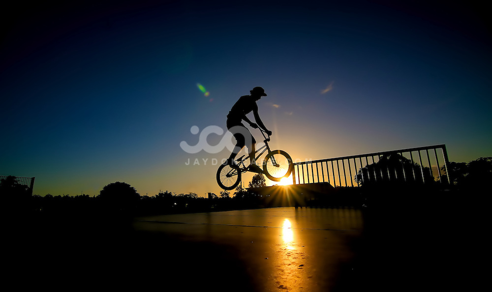 Extreme sports pictures, BMX silhouettes by Jaydon Cabe Photography