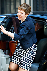 © Licensed to London News Pictures. 09/06/2015. Westminster, UK. Baroness STOWELL attending to a cabinet meeting in Downing Street on Tuesday, 9 June 2015. Photo credit: Tolga Akmen/LNP