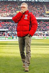 07.02.2015, RheinEnergieStadion, Köln, GER, 1. FBL, 1. FC Köln vs SC Paderborn, 20. Runde, im Bild Trainer Peter Stoeger (1. FC Koeln) // during the German Bundesliga 20th round match between 1. FC Cologne and SC Paderborn at the RheinEnergieStadion in Köln, Germany on 2015/02/07. EXPA Pictures © 2015, PhotoCredit: EXPA/ Eibner-Pressefoto/ Schüler<br /> <br /> *****ATTENTION - OUT of GER*****