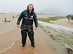 Northland-Flooding on the Hikurangi swamp land
