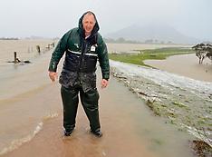 Northland-Flooding on the Hikurangi swamp land