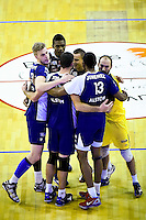 Jan Willen SNIPPE / Marc ZOPIE / David LANTA  - 19.12.2014 - Beauvais / Saint Nazaire - 12e journee de Ligue A<br />Photo : Fred Porcu / Icon Sport